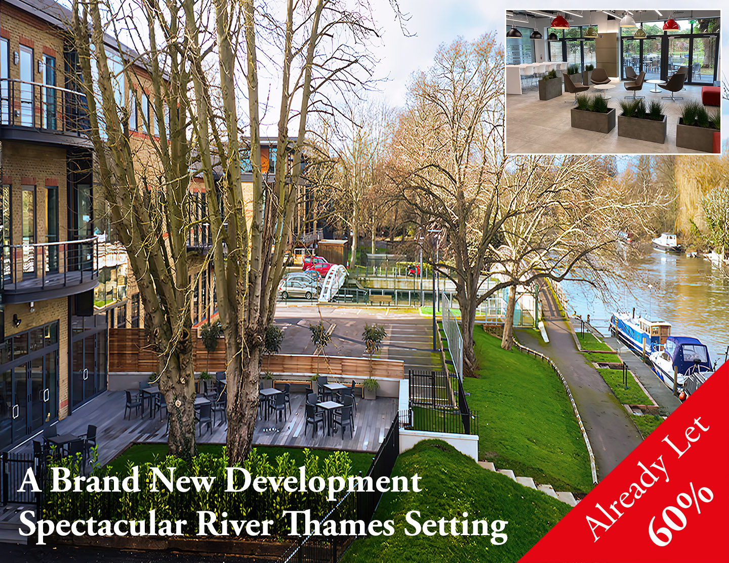 Waterfront Waterman's Business Park, Staines-upon-Thames, TW18 3BA
